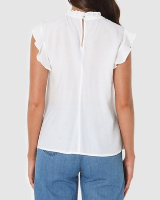 Amelius Anais Top - Tops (Ivory)