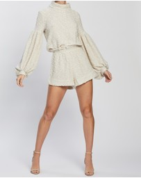 Shona Joy - Aimee Cowl Neck Balloon Sleeve Jumper