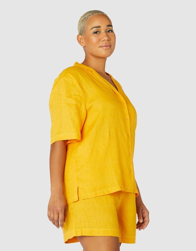 Women Colour Study Shorts PJ Set