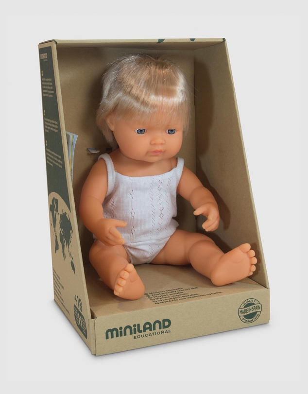 Miniland - Baby Boy Doll