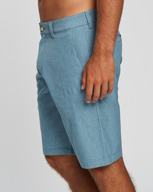 TravisMathew Backdoor Golf Shorts Chino Aegean