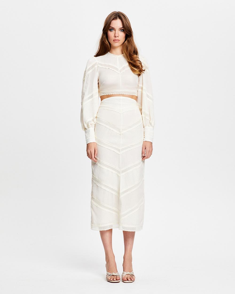 alice McCALL Some Girls Skirt Skirts Pannacotta