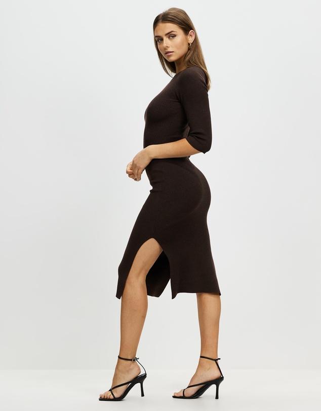 Women Marsha Knit Midi Dress