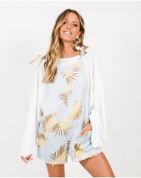 Girl & The Sun - Santorini Playsuit