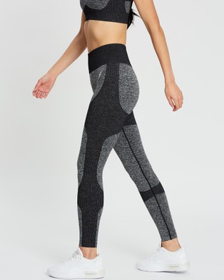 Doyoueven Impact Seamless Leggings - Full Tights (Black)
