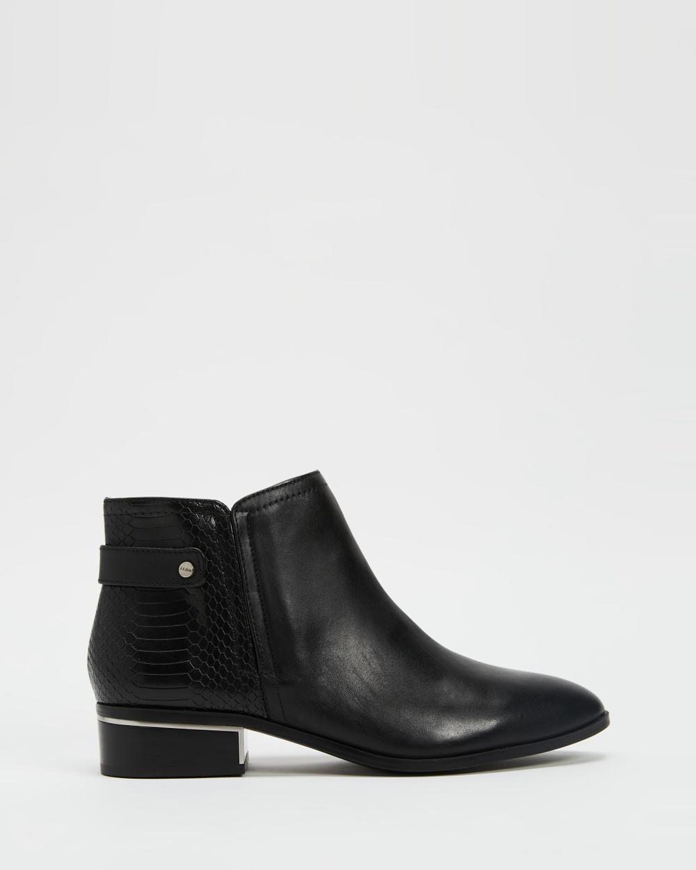 ALDO Jeraelle Ankle Boots Black