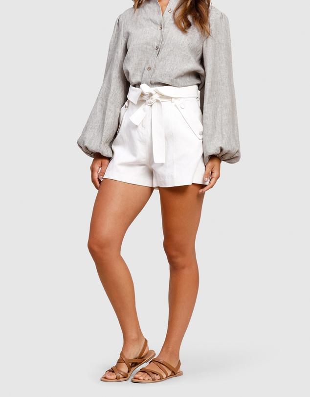 Women Resort Panelled Shorts