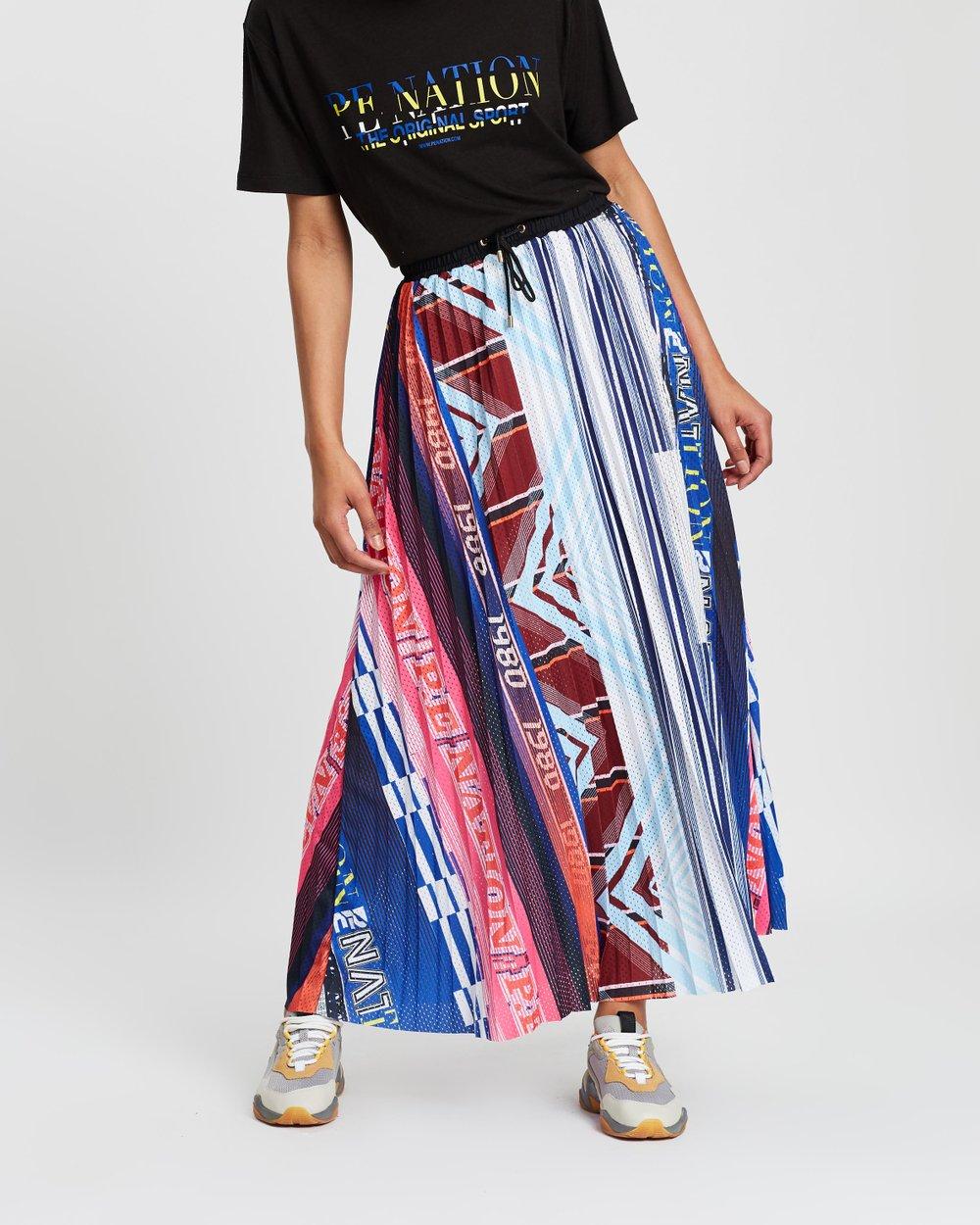 Overtime Pleat Skirt