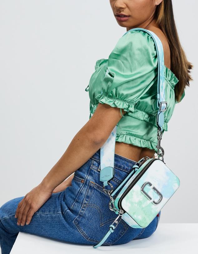 Women Snapshot Tie-Dye Bag