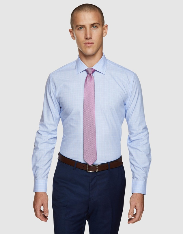 Oxford - Islington Checked Easy Care Shirt