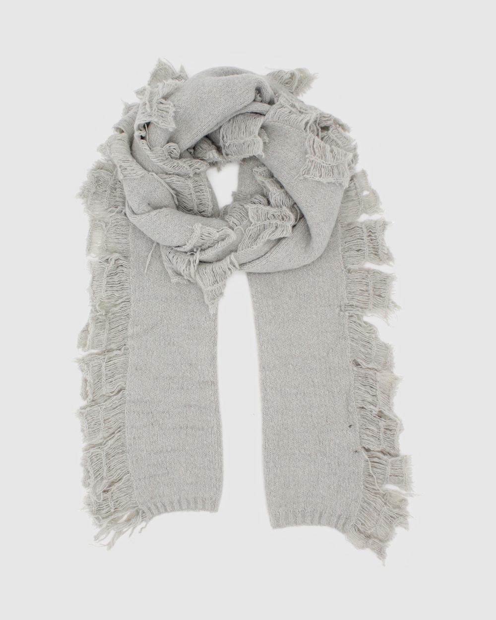 Morgan & Taylor Isla Scarf Scarves Gloves Grey