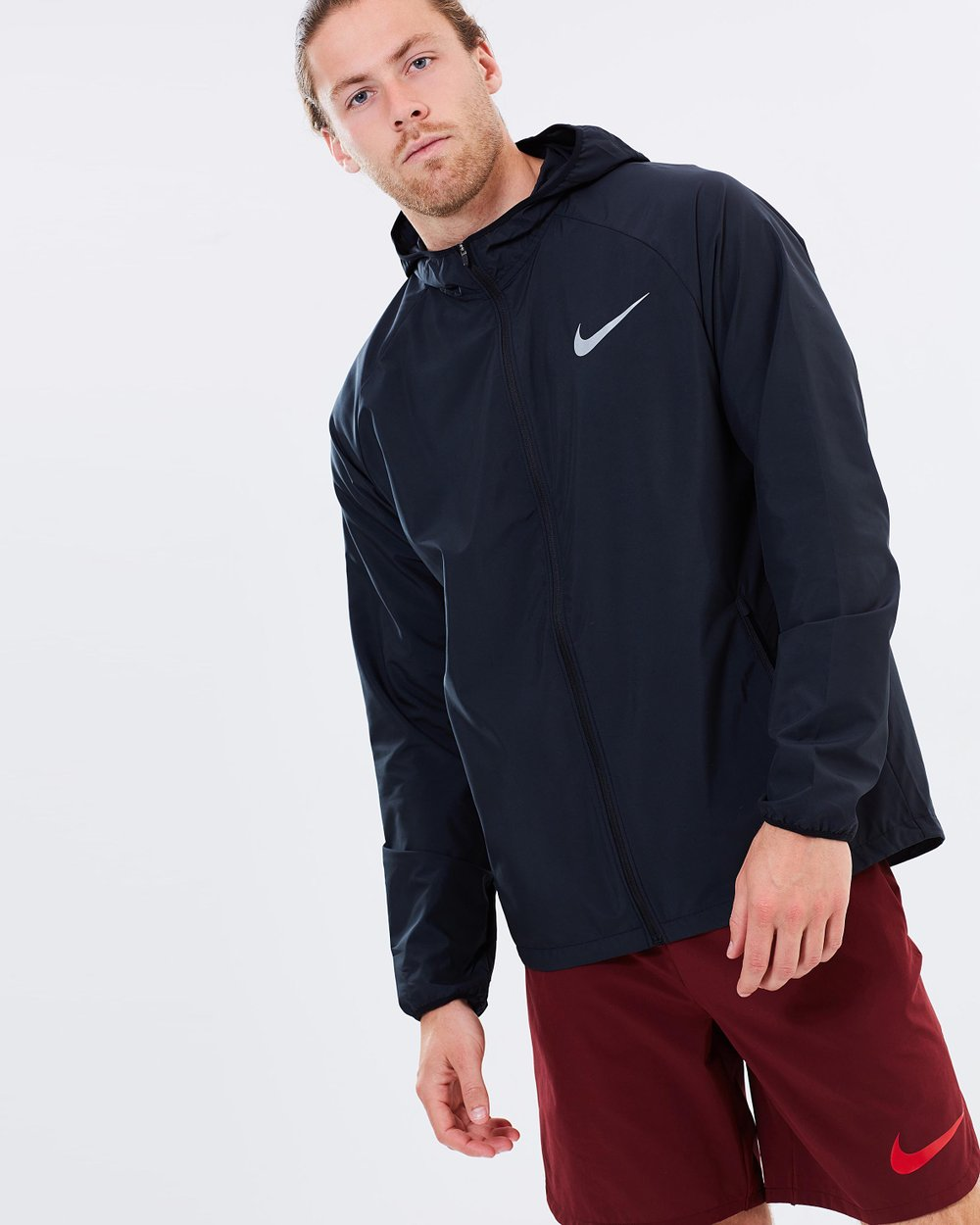 40d600b8aded7 Men's Nike Essential Hooded Running Jacket by Nike Online | THE ICONIC |  Australia