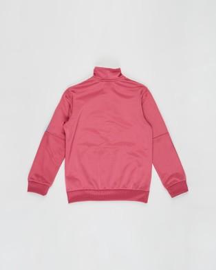 adidas Originals - Adicolour Track Jacket   Teens - Coats & Jackets (Wild Pink) Adicolour Track Jacket - Teens