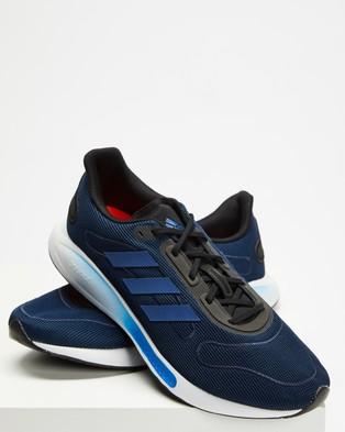 adidas Performance - Galaxar Running Shoes Men's (Royal Blue)