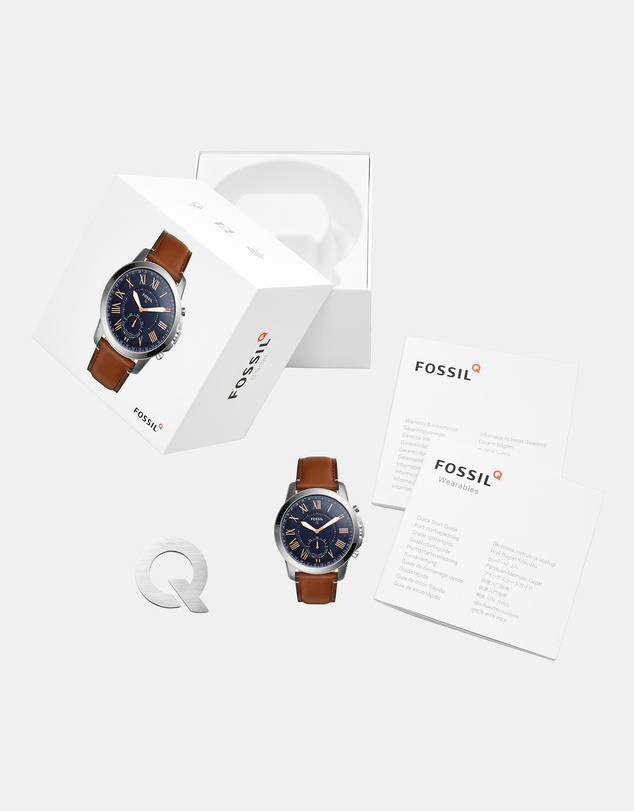 Fossil - Hybrid Smartwatch Q Grant Brown