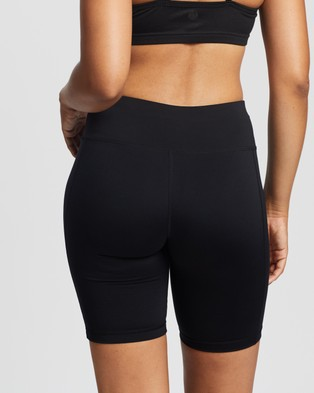 Sweaty Betty All Day Contour Shorts - 1/2 Tights (Black)