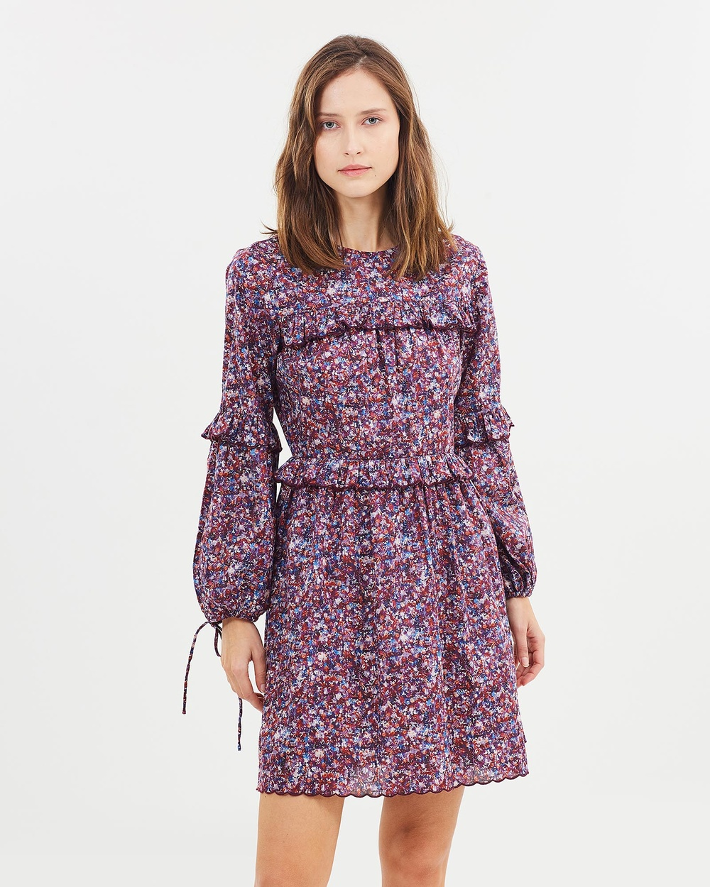 Morrison Adelaide Mini Dress Dresses Purple Adelaide Mini Dress