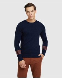 Oxford - Hartley Contrast Stripe Knit