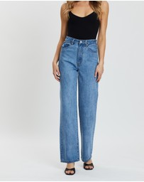 Atmos&Here - Aria Wide Leg Jeans