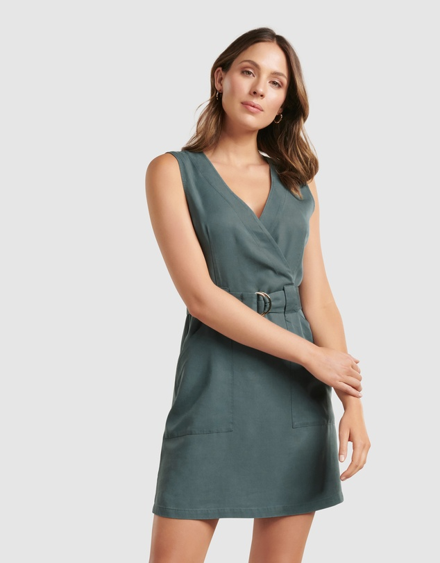 Forever New - Katy Sleeveless Belted Dress
