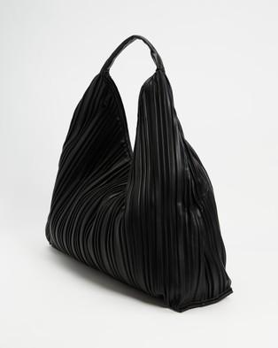 M.N.G - Deri Slouch Bag - Handbags (Black) Deri Slouch Bag