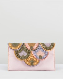 From St Xavier - Scalloped Envelope Clutch
