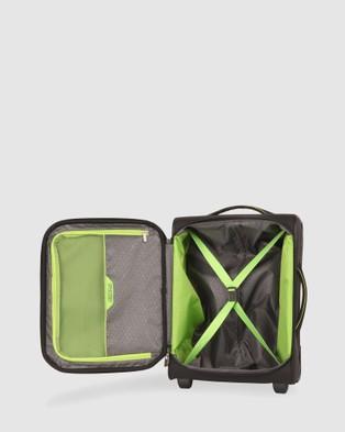 Australia American Tourister Applite 4Security Upright 50 TSA - Travel and Luggage (Black & Green)