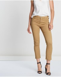 J Brand - Ruby High-Rise Crop Cigarette Jeans