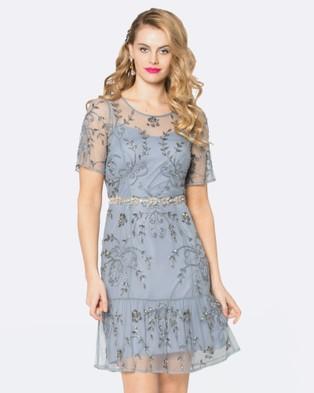 Alannah Hill – Glamourous Girl Dress Grey