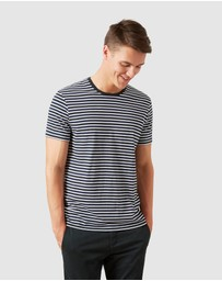 French Connection - Forest Stripe T Shirt