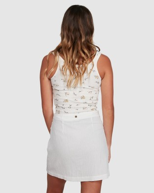Billabong In The Sky Skirt - Skirts (WHITE)
