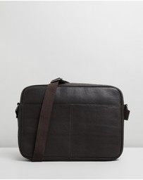 Double Oak Mills - Thomas Leather Crossbody Bag