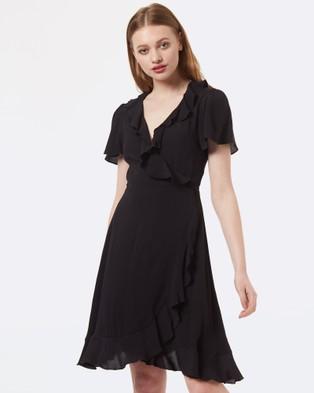 Princess Highway – Tiffany Wrap Dress Black