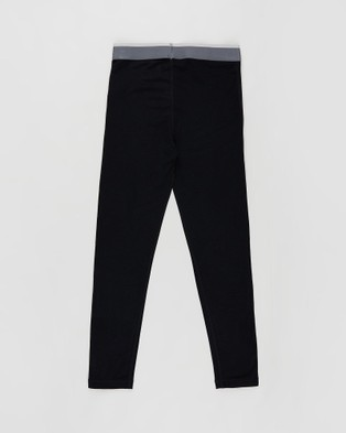 Le Bent Kids 200 Lightweight Bottoms All base Layers Black