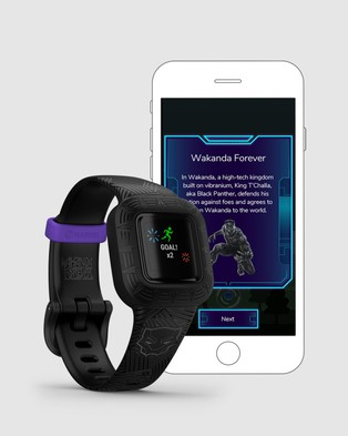 Garmin v?¡vofit jr. 3 - Fitness Trackers (Black Panther)