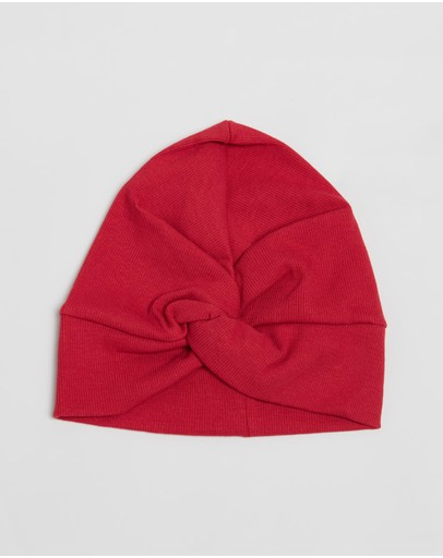 ArchNOllie - Ribbed Turban Beanie - Kids