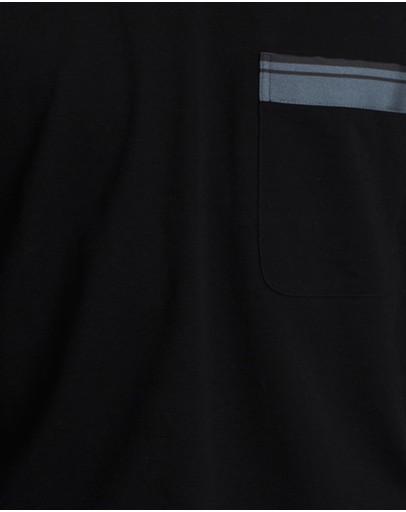Cerruti 1881 Pique T-shirt Black