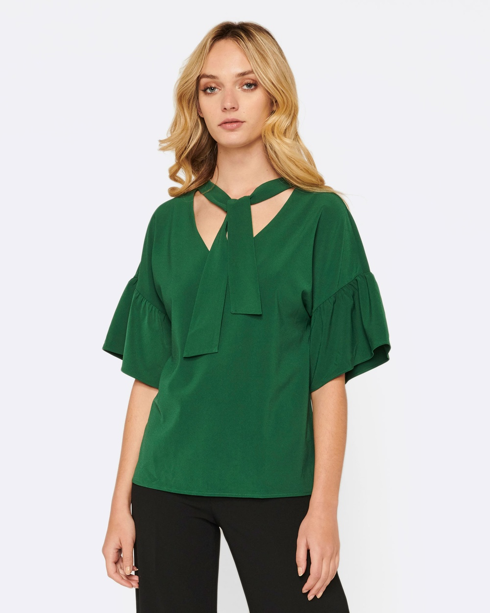 MVN Best Of Me Top Tops Green Best Of Me Top