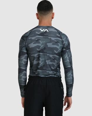 RVCA Mens Sport Rashguard - Swimwear (CAMO)