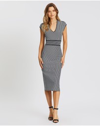 SABA - Mara Milano Check Dress