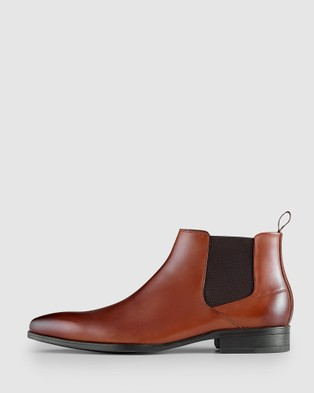 AQ by Aquila Haywood Chelsea Boots - Dress Boots (Tan)