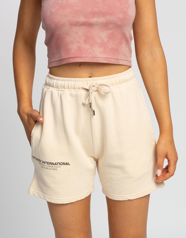 Stussy - Text Low Waisted Shorts