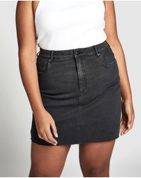 Cotton On Curve - Curve Denim Skirt