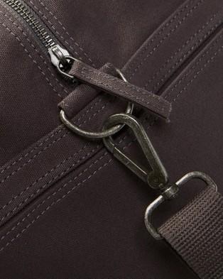 AERE Organic Canvas Weekender - Duffle Bags (Charcoal Black)