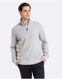 Russell Zip Neck Knit