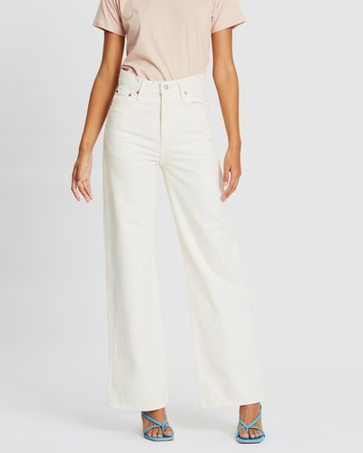 Ribcage Wide-Leg Jeans