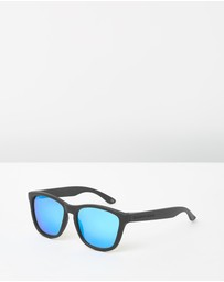 Hawkers Co - Carbon Black Clear Blue One
