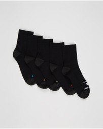 Rip Curl - 5-Pack Corp Crew Socks - Kids-Teens