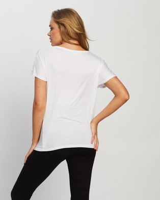 Cotton On Maternity Maternity Karly Short Sleeve Top - Tops (White)