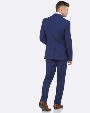 Kelly Country Livorno Slim Fit Royal Suit - Suits & Blazers (Blue)